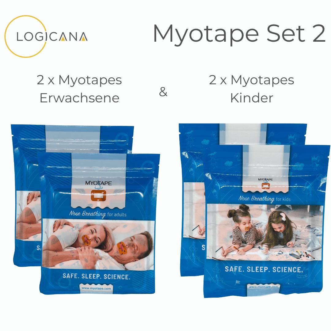Myotape 2 x Kinder & 2 x Erwachsene